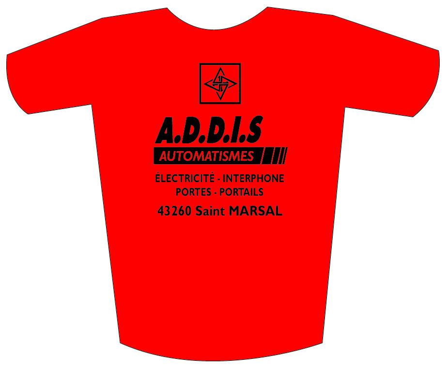 ADDIS tee shirt
